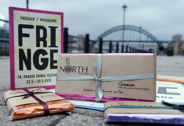 North is 'Official Chocolatier to Prague Fringe Festival' 2016!